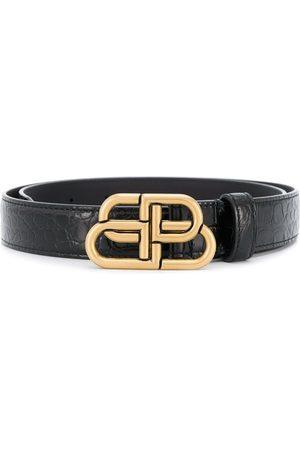 Balenciaga BB buckle belt