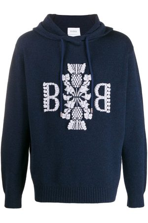 Barrie 3D logo knitted hoodie