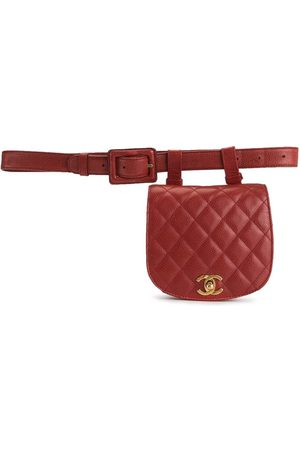 CHANEL 1990s quilted CC belt bag
