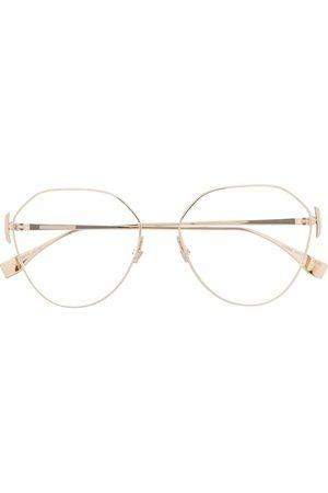 Fendi Geometric-frame glasses