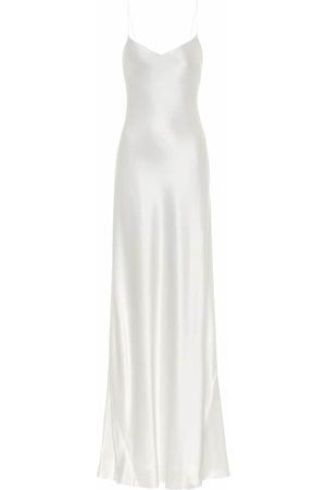 GALVAN Women Casual Dresses - Malibu satin maxi slip dress