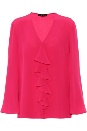 Etro Women Blouses - Silk-crêpe blouse