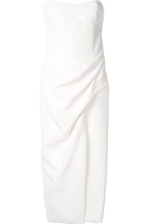 MANNING CARTELL Hit Predictor strapless midi dress