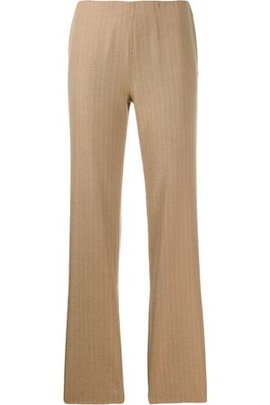 ROMEO GIGLI 2000's pinstriped straight trousers