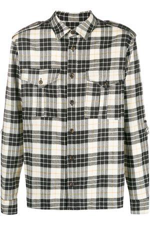 Ih Nom Uh Nit Plaid flannel shirt