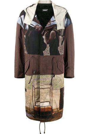 UNDERCOVER Patchwork print coat