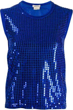 Comme des Garçons 2000s sequin-embellished vest