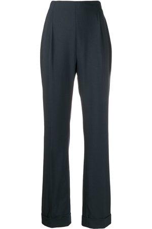 ROMEO GIGLI 1998 high rise straight trousers