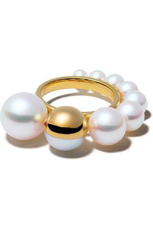 Tasaki 18kt Shell ring