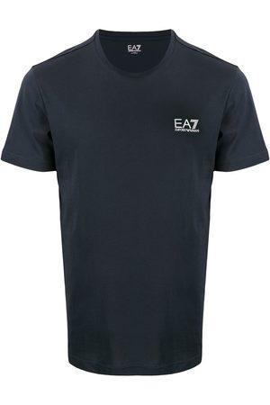 Ea7 Emporio Armani Men Short Sleeve - Logo print T-shirt