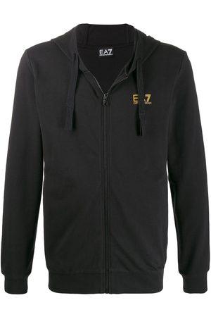 EA7 Printed logo hoodie