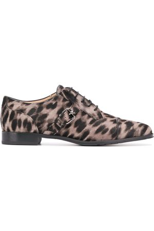 Tod's Leopard print oxford shoes