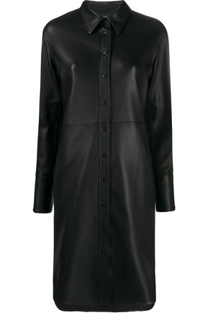 Joseph Lambskin shirt dress