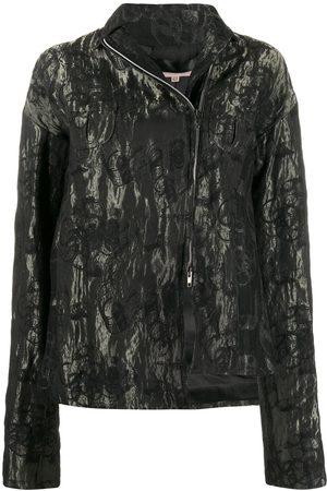 ROMEO GIGLI 1990s floral metallic jacket