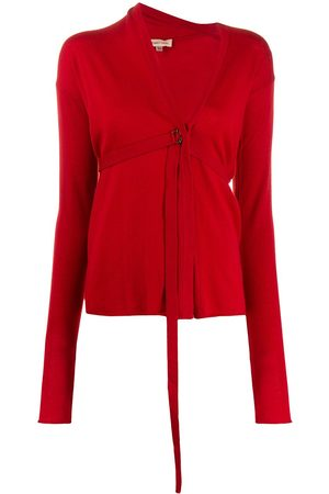 ROMEO GIGLI 1990s strapped detail cardigan