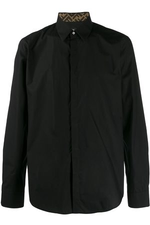 Fendi Long-sleeved buttoned shirt