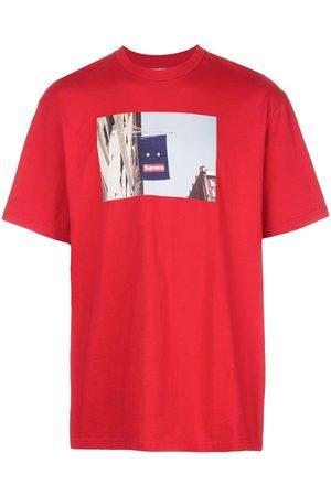 Supreme Banner print T-shirt