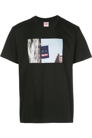 Supreme Banner graphic T-shirt
