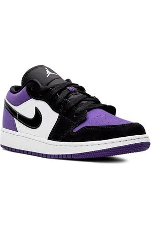 Jordan Kids Boys Sneakers - TEEN Air Jordan 1 Low (GS) court purple