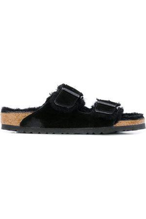 Birkenstock Women Sandals - Arizona buckled sliders