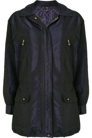 CHANEL Women Coats - CC button coat