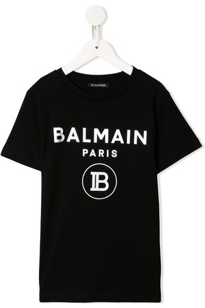 Balmain Contrast logo T-shirt