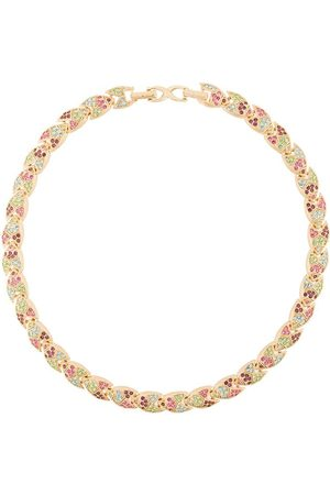 Susan Caplan 1980's D'Orlan embellished necklace