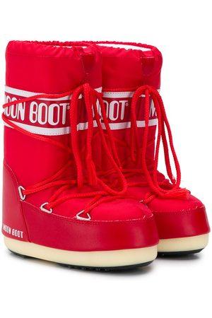 Moon Boot Girls Snow Boots - Logo print snow boots