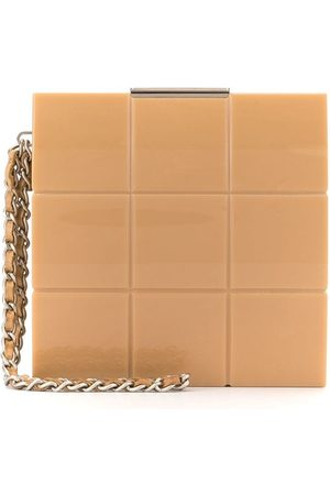 CHANEL Choco Bar mini clutch