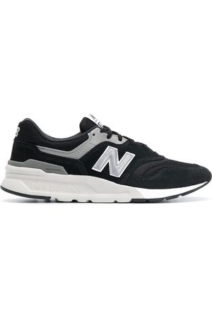 New Balance Men Sneakers - Low-top mesh-panel trainers