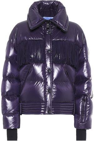 Moncler Genius 3 MONCLER GRENOBLE fringed down jacket
