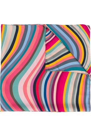 Paul Smith Women Scarves - Double-sided Swirl scarf