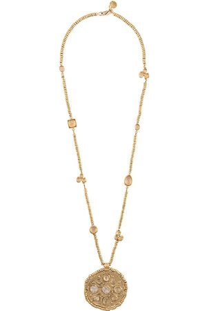 Goossens Mini cabochons medaillon necklace
