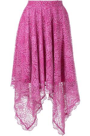 Olympiah Women Midi Skirts - Petale uneven midi skirt