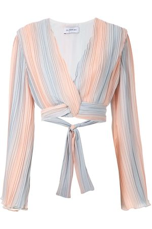 Olympiah Camelia cropped top