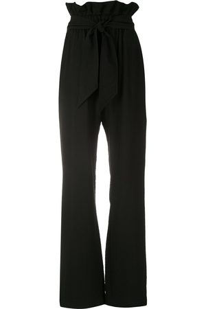 Olympiah Laurier paperbag waist trousers