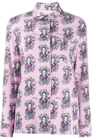 La DoubleJ Demeter print long sleeve shirt