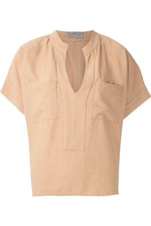 Olympiah Maggiolina chest pockets blouse