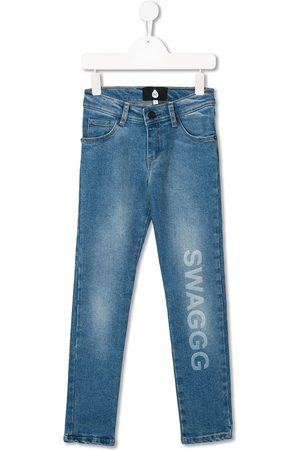 DUO Swagg mid-rise slim jeans