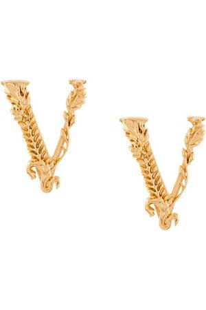 VERSACE Men Earrings - Virtus embossed earrings