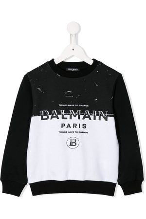 Balmain Contrasting sweatshirt