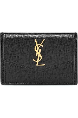Saint Laurent Uptown leather card case