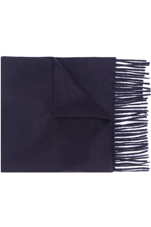 Filippa K Fine knit frayed edge scarf