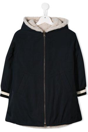 YVES SALOMON Reversible shearling lined coat