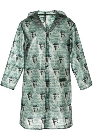 UNDERCOVER X Clockwork Orange all-over print raincoat
