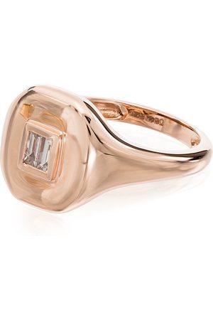 Shay 18kt rose diamond embellished ring