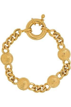 VERSACE Women Bracelets - 1990s Medusa chain bracelet