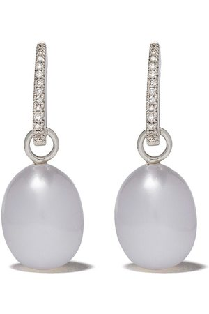 ANNOUSHKA 18kt white gold diamond Favourites earrings