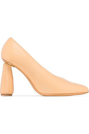 Jacquemus Cone-heel slip-on pumps