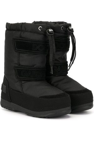 Dolce & Gabbana Round toe snow boots